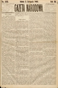 Gazeta Narodowa. 1864, nr253