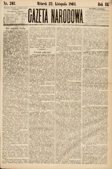 Gazeta Narodowa. 1864, nr267