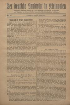 """Der Deutsche Landwirt in Kleinpolen : vierzehntägig erscheinende Beilage zum """"Ostdeutschen Volksblatt"""". 1928, Nr. 24 (18 Nebelung [November])"""