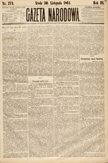 Gazeta Narodowa. 1864, nr274