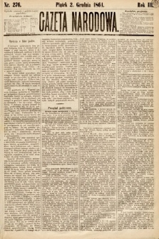 Gazeta Narodowa. 1864, nr276