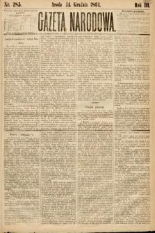 Gazeta Narodowa. 1864, nr285
