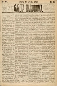 Gazeta Narodowa. 1864, nr287