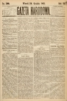 Gazeta Narodowa. 1864, nr290