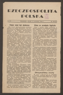 Rzeczpospolita Polska. R.4, nr 55 (12 września 1944) = nr 127
