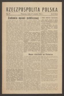 Rzeczpospolita Polska. R.4, nr 70 (27 września 1944) = nr 142