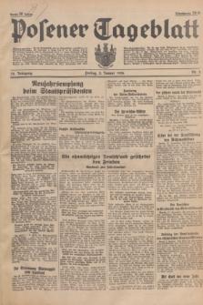 Posener Tageblatt. Jg.75, Nr. 2 (3 Januar 1936) + dod.