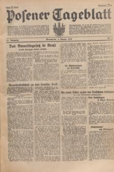Posener Tageblatt. Jg.75, Nr. 3 (4 Januar 1936) + dod.