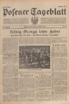 Posener Tageblatt. Jg.75, Nr. 24 (30 Januar 1936) + dod.