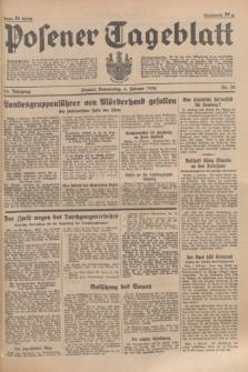 Posener Tageblatt. Jg.75, Nr. 30 (6 Februar 1936) + dod.