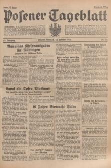 Posener Tageblatt. Jg.75, Nr. 35 (12 Februar 1936) + dod.