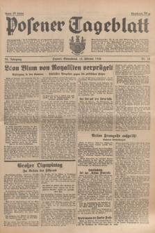 Posener Tageblatt. Jg.75, Nr. 38 (15 Februar 1936) + dod.