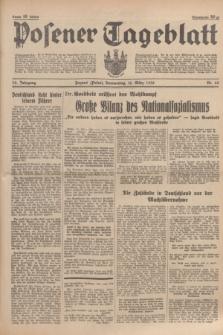 Posener Tageblatt. Jg.75, Nr. 60 (12 März 1936) + dod.
