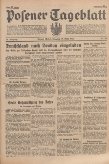 Posener Tageblatt. Jg.75, Nr. 64 (17 März 1936) + dod.
