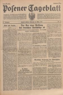 Posener Tageblatt. Jg.75, Nr. 65 (18 März 1936) + dod.