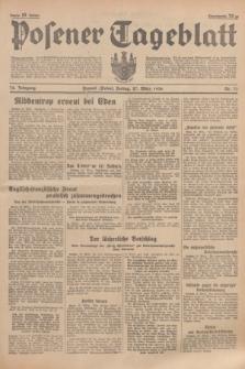 Posener Tageblatt. Jg.75, Nr. 73 (27 März 1936) + dod.
