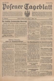 Posener Tageblatt. Jg.75, Nr. 78 (2 April 1936) + dod.