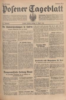 Posener Tageblatt. Jg.75, Nr. 89 (17 April 1936) + dod.