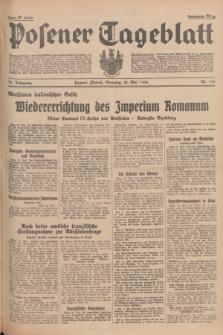 Posener Tageblatt. Jg.75, Nr. 110 (12 Mai 1936) + dod.