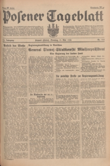 Posener Tageblatt. Jg.75, Nr. 115 (17 Mai 1936) + dod.