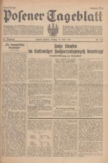 Posener Tageblatt. Jg.75, Nr. 140 (19 Juni 1936) + dod.