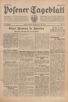Posener Tageblatt. Jg.75, Nr. 171 (26 Juli 1936) + dod.
