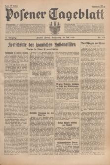 Posener Tageblatt. Jg.75, Nr. 174 (30 Juli 1936) + dod.