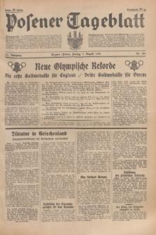 Posener Tageblatt. Jg.75, Nr. 181 (7 August 1936) + dod.