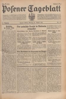 Posener Tageblatt. Jg.75, Nr. 194 (23 August 1936) + dod.