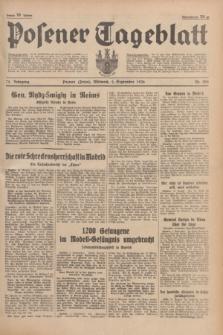 Posener Tageblatt. Jg.75, Nr. 202 (2 September 1936) + dod.