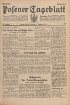 Posener Tageblatt. Jg.75, Nr. 212 (13 September 1936) + dod.