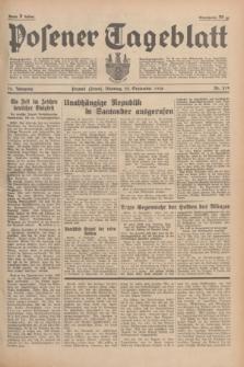 Posener Tageblatt. Jg.75, Nr. 219 (22 September 1936) + dod.
