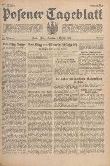 Posener Tageblatt. Jg.75, Nr. 230 (4 Oktober 1936) + dod.