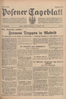Posener Tageblatt. Jg.75, Nr. 261 (10 November 1936) + dod.
