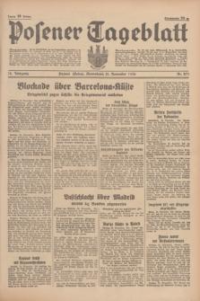Posener Tageblatt. Jg.75, Nr. 271 (21 November 1936) + dod.