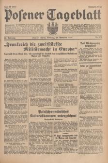 Posener Tageblatt. Jg.75, Nr. 278 (29 November 1936) + dod.