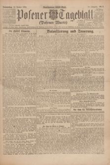 Posener Tageblatt (Posener Warte). Jg.63, Nr. 8 (10 Januar 1924) + dod.