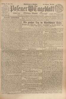 Posener Tageblatt (Posener Warte). Jg.63, Nr. 134 (13 Juni 1924) + dod.