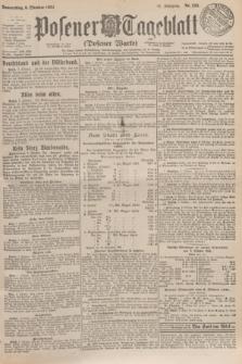 Posener Tageblatt (Posener Warte). Jg.63, Nr. 233 (9 Oktober 1924)