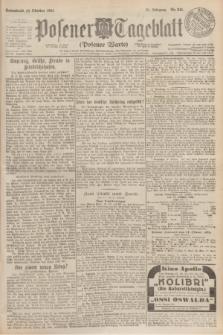 Posener Tageblatt (Posener Warte). Jg.63, Nr. 241 (18 Oktober 1924)