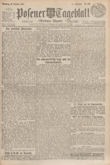 Posener Tageblatt (Posener Warte). Jg.63, Nr. 242 (19 Oktober 1924) + dod.
