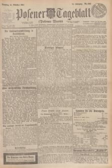 Posener Tageblatt (Posener Warte). Jg.63, Nr. 243 (21 Oktober 1924)