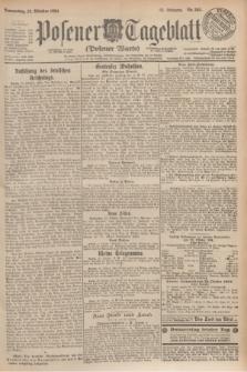 Posener Tageblatt (Posener Warte). Jg.63, Nr. 245 (23 Oktober 1924)