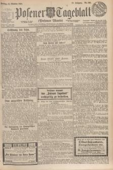 Posener Tageblatt (Posener Warte). Jg.63, Nr. 246 (24 Oktober 1924)