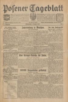 Posener Tageblatt. Jg.70, Nr. 2 (3 Januar 1931) + dod.