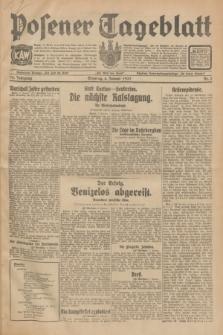 Posener Tageblatt. Jg.70, Nr. 3 (4 Januar 1931) + dod.