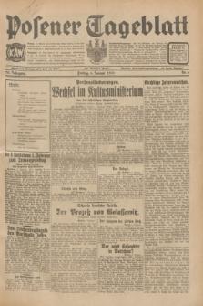 Posener Tageblatt. Jg.70, Nr. 6 (9 Januar 1931) + dod.