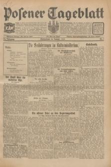 Posener Tageblatt. Jg.70, Nr. 7 (10 Januar 1931) + dod.