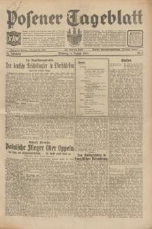 Posener Tageblatt. Jg.70, Nr. 8 (11 Januar 1931) + dod.