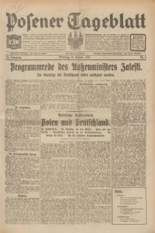 Posener Tageblatt. Jg.70, Nr. 9 (13 Januar 1931) + dod.